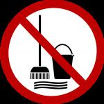 A nedvesápolás tilos