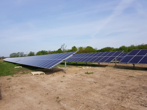 Szabadegyház napelempark 1 MW